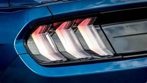 Ford Mustang LED Tail lights 4K Wallpaper HD Car
