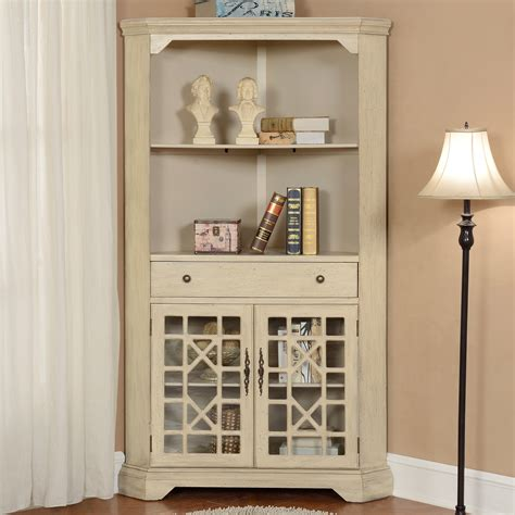 Corner Bookcases With Doors by Coast To Coast 2 Door Corner Bookcase Bookcases At Hayneedle