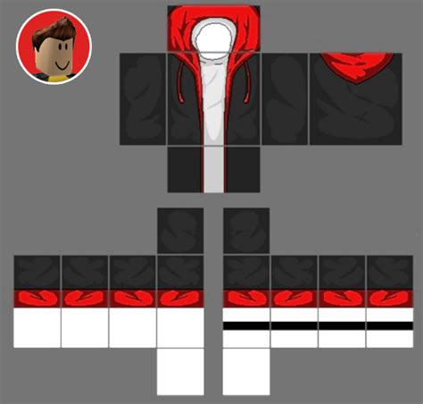 Transparent Hoodie Template Cool by Roblox T Shirt Template Best Template Idea