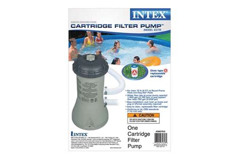 Intex 1000 Gph Easy Set Pool Filter Pump
