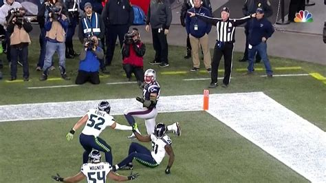 patriots  seahawks ended    call  pass
