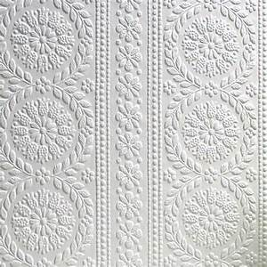 RD340 Anaglypta Wallcovering Paintable Textured Wallpaper ...