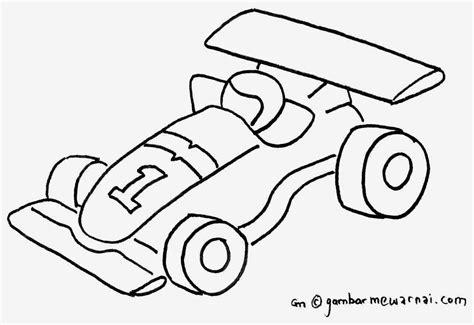 Poto Motor Balap by Gambar Mewarnai Mobil Balap Gambar Mewarnai Lucu