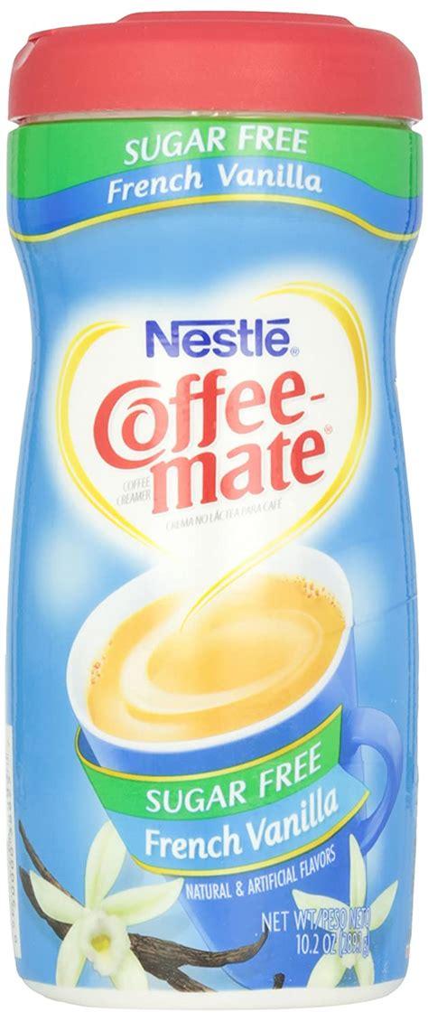 Coffee mate french vanilla powder coffee creamer 15 oz. COFFEE MATE Sugar Free French Vanilla Powder Coffee ...