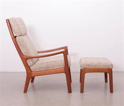 benarp sessel ole wanscher senator highjack lounge chair and ottoman by