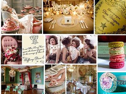 Antoinette Marie Theme Inspiration French Century Rococo