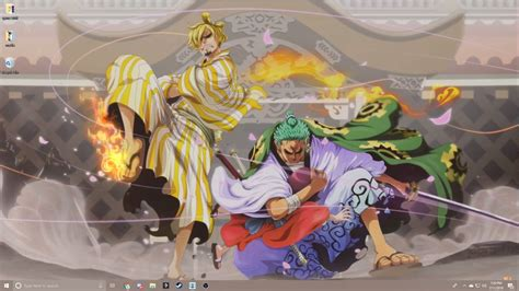 wallpaper  piece wano kuni wallpaper
