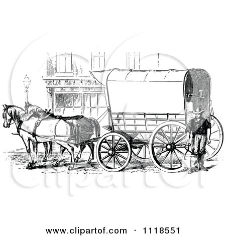 horsedrawn clipart clipground