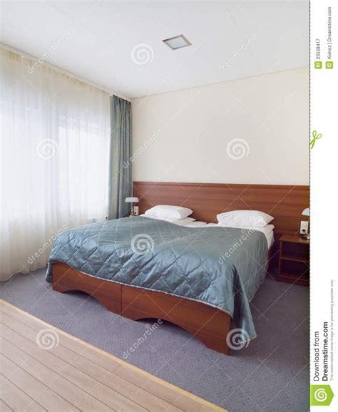 Schlafzimmer Mit Heller Decke Stockbild  Bild Von