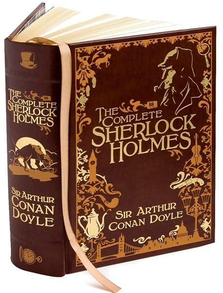 sherlock holmes complete conan doyle arthur sir finished reading novels literary odyssey adventures august last