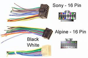 Car Audio Wire Harness Colors Wiring Schematics And