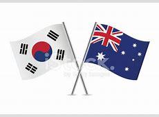 Australian and South Korean Stock Vector FreeImagescom