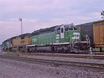 Bn Sd40 2s Burlington Northern Freight 1997