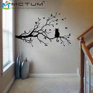 branch wall art design decoration With best brand of paint for kitchen cabinets with stair wall art stickers