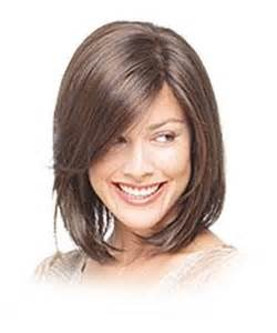 Frisuren Schulterlanges Haar Gestuft Braun by Mittellange Haare Gestuft