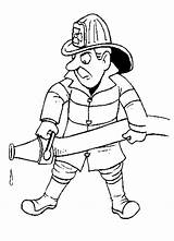 Firefighter Coloring Pages Fireman Printable Fire Clipart Fighter Hat Cartoon Cliparts Library Line Sam Helpers Community Firemen Party Colouring Printables sketch template