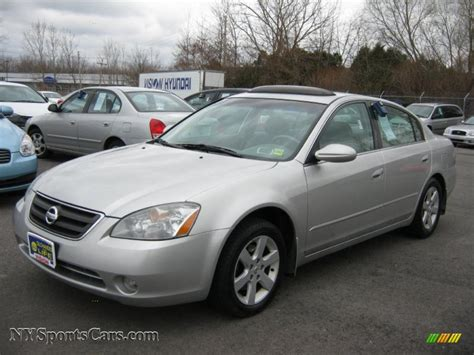 Nissan Altima 2003 by 2003 Nissan Altima 2 5 S In Sheer Silver Metallic 282554
