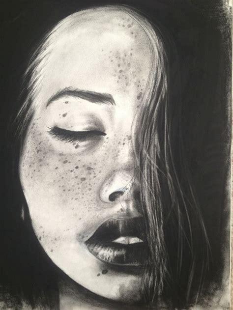 attractive charcoal drawing weneedfun