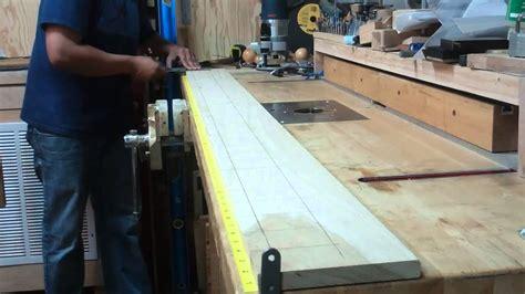 accurately straighten  speargun wood build