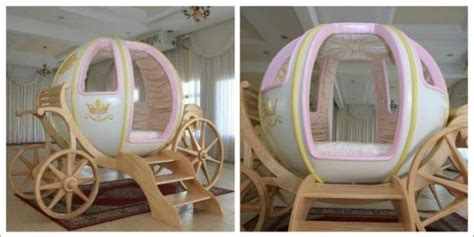 amazing life size cinderella carriage   bed