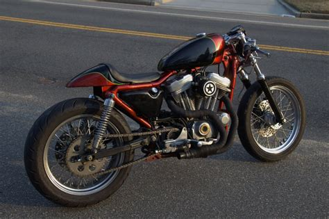 Harley Davidson Cafe Racer For Sale by 1997 Harley Davidson Sportster Hugger 883 Bobber Cafe