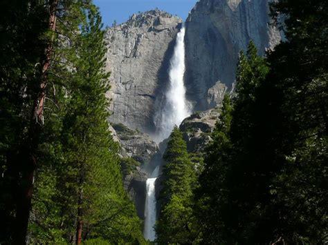 Cascate Yosemite Falls California Immagini Sfondi