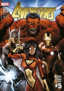 Avengers Assemble Comic Book Cover