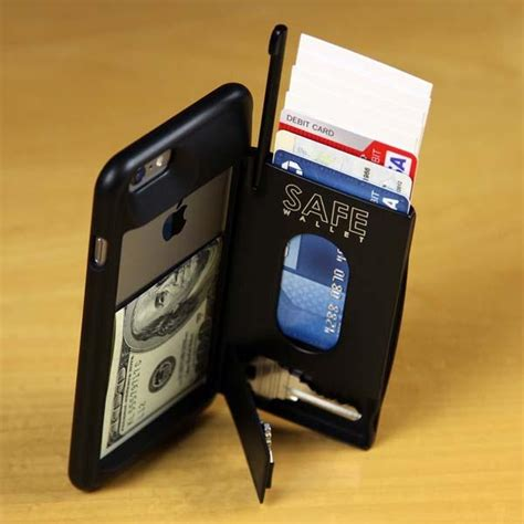 iphone 6 plus wallets the safe wallet iphone 6 plus gadgetsin