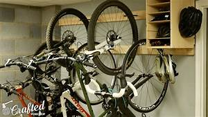 DIY Bike Rack for $20 / Bike Storage Stand & Cabinet for