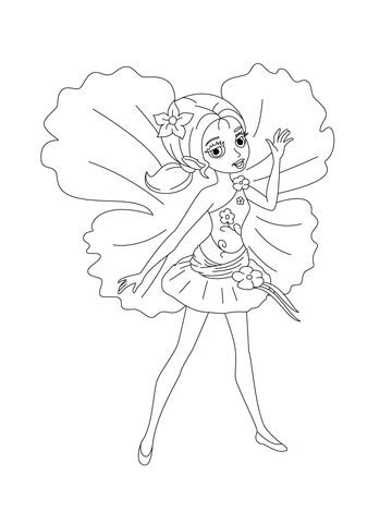 chrysella coloring page  printable coloring pages