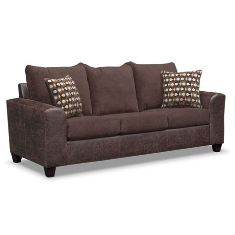 value city furniture sleeper sofa brando queen memory foam sleeper sofa and loveseat set