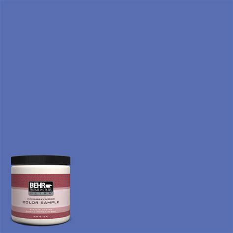 behr paint colors reviews behr premium plus ultra 8 oz ppu15 05 new age blue matte interior exterior paint and primer in