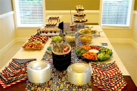 diy cuisine a nautical baby shower with help from trading