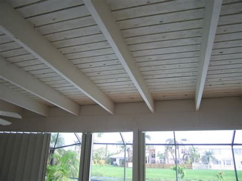 Diy Deck Ceiling Kits Nationwide by Want To Install An Outdoor Ceiling Fan Directly To Exposed