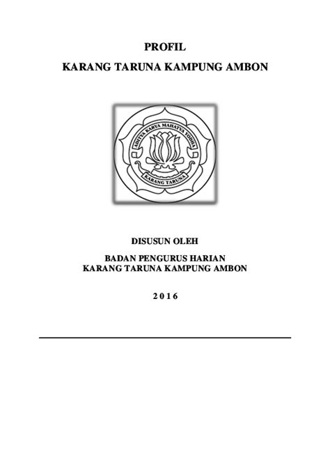 surat pengunduran diri  organisasi karang taruna