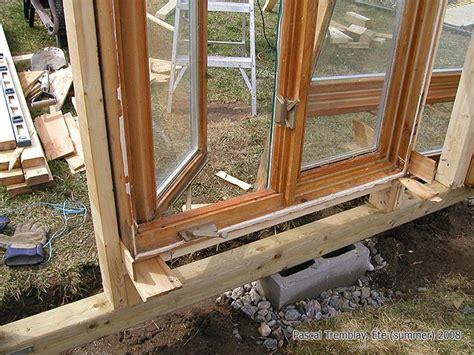 comment installer une serre construire serre de culture ou serre en verre mini serre de jardin