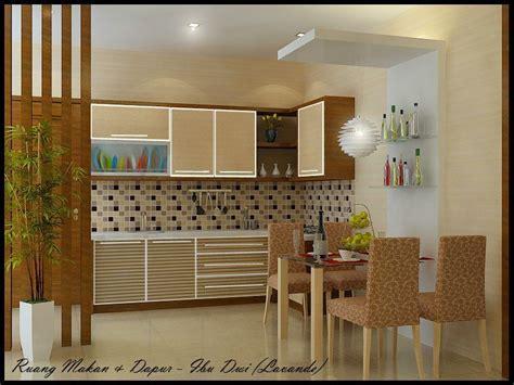 kitchen set sketsa desain dapur minimalis tata ruang