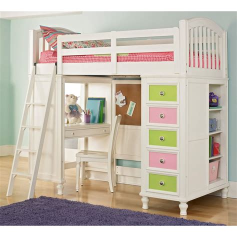 loft bed plans  kids bed plans diy blueprints