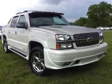 sold chevrolet avalanche  southern comfort