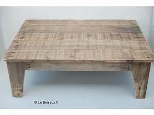 Table De Salon Bois : table de salon en bois de palettes tables de restaurants en bois recycl sur mesure ~ Teatrodelosmanantiales.com Idées de Décoration