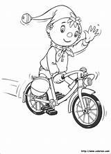 Noddy Oui Coloriage Colorir Desenhos Velo Coloring Colorear Pintar Dibujos Bicycle Bicyclette Ausmalbilder Kolorowanki Dessin Malvorlagen Greet Bike Desenho Sa sketch template