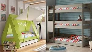 Jugendliche Betten : kinderzimmer f r 3 kinder ~ Pilothousefishingboats.com Haus und Dekorationen