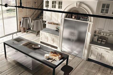 cuisine bois metal cuisine moderne marchi la collection montserrat