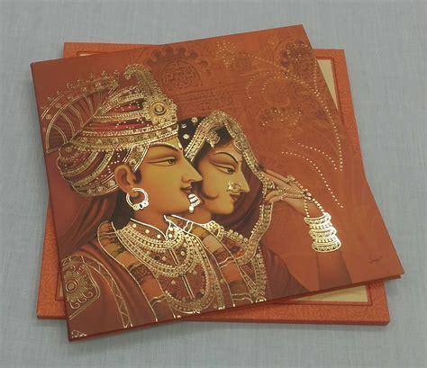 Royal theme Wedding Invitations Hindu wedding invitation