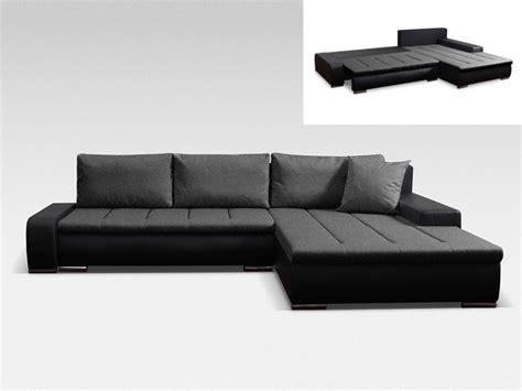 vente unique canapé convertible canapé d 39 angle réversible et convertible niro bimatière