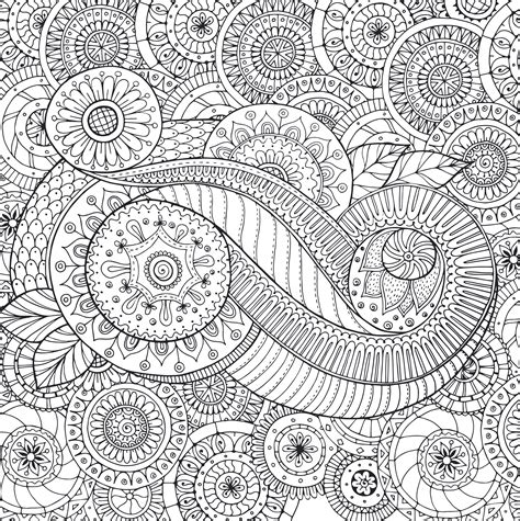 peaceful paisleys artists coloring book papermese