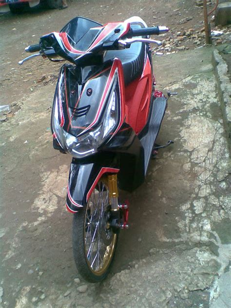 Modifikasi Motor Matic Beat by Modifikasi Motor Matic Honda Beat 2015