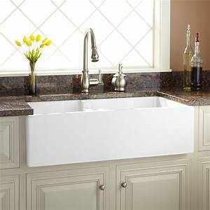 kitchen sink fossett 27 inch farmhouse sink kitchen With 27 inch farmhouse sink white