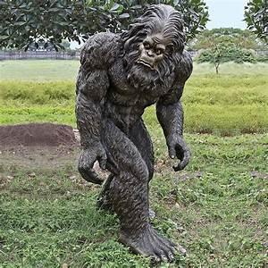 Lifesize Bigfoot Statue - The Green Head