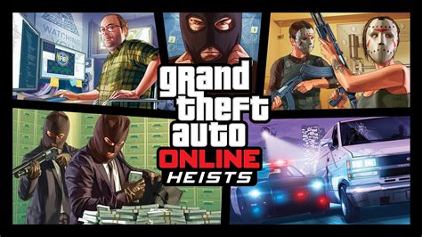 Gta Online Heists Revealed With Screenshots And New